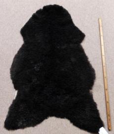 Donkerbruine Gekrulde Schapenvacht M (2204)