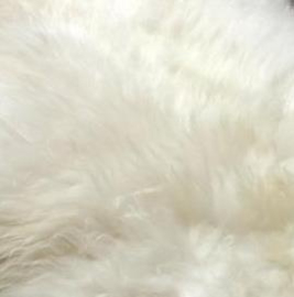 White Sheepskins