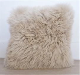 Linnen Sheepskin Cushion