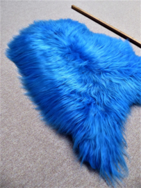 Kobaltblauwe Ijslandse Schapenvacht S (8)