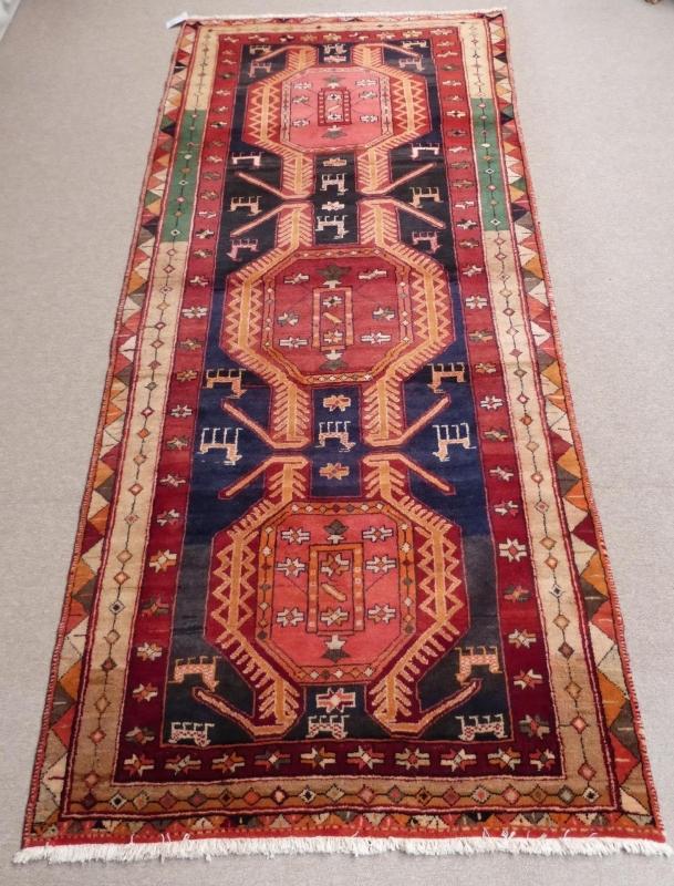Hamadan Tapijt, 134 x 304 cm