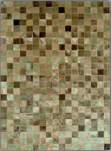 Multicolor Squares groen
