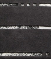 Look Stripes Charcoal