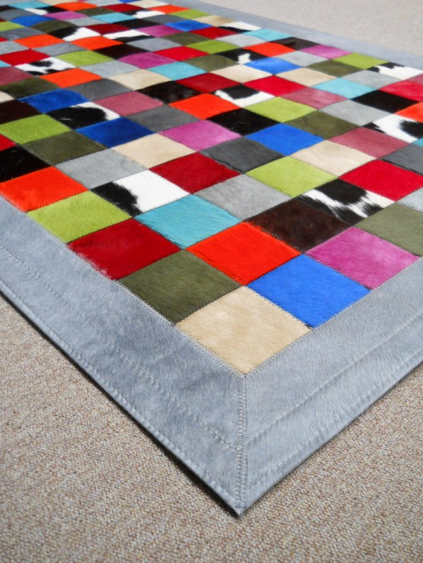 Multicolor patchwork kleed