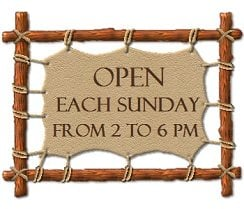 Open every Sunday