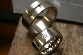 Soundwave ring / Geluidsgolf ring
