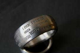 Tekst ring / Naam ring