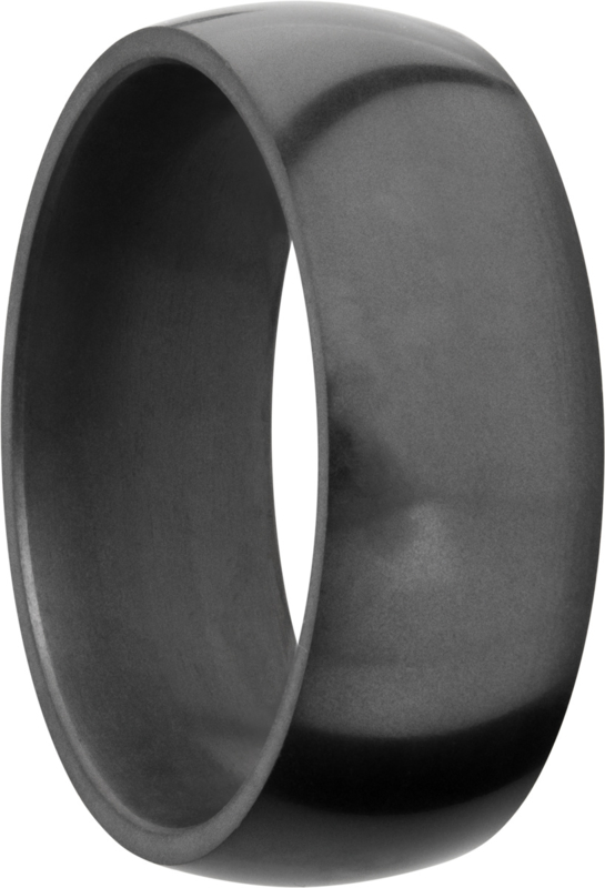 NYX Black Diamond Ring - Licht bollend - 8 mm breed