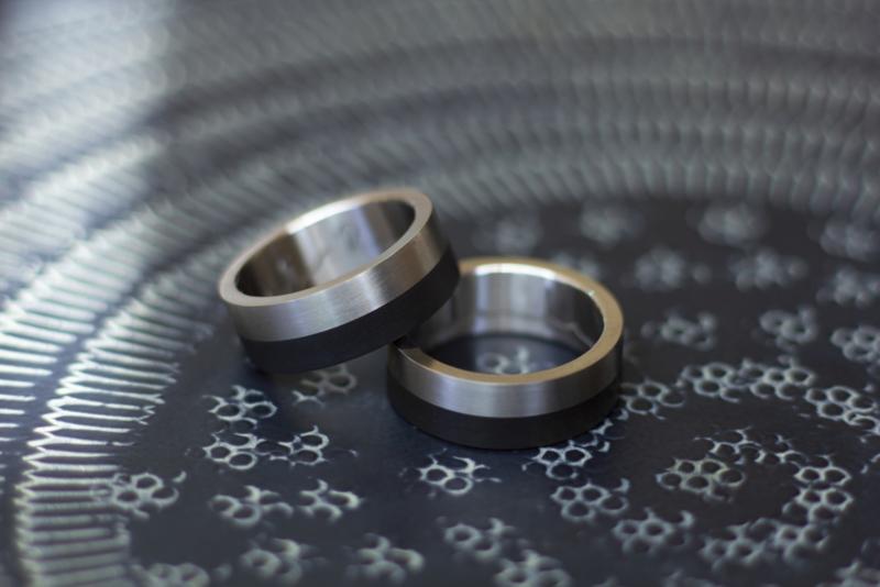 Carbon ECG ringen