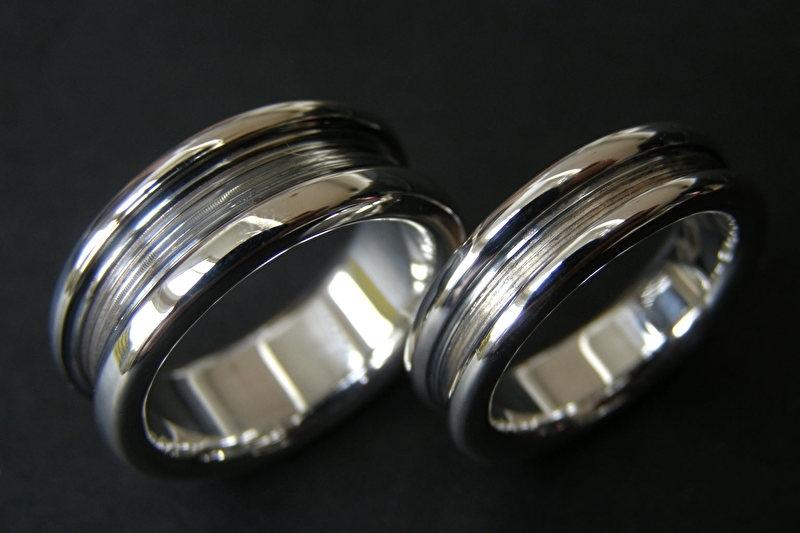 Zilveren kool design ringen