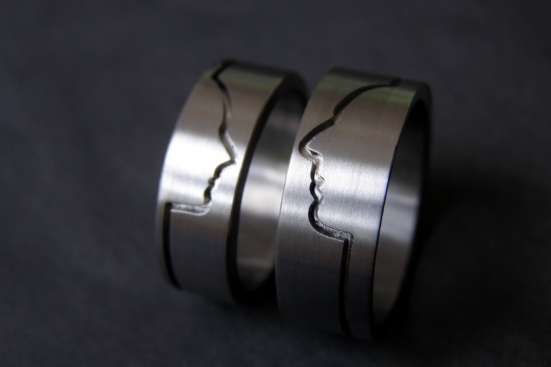 Titanium Profiel ring