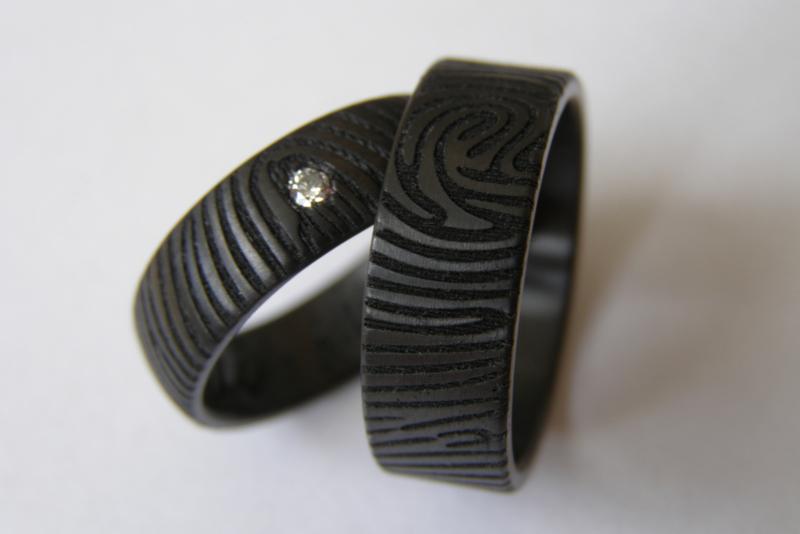 Vingerafdruk ringen met een 360 Graden vingerafdruk
