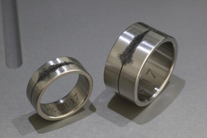 Geluidgolf ring / Soundwave ring