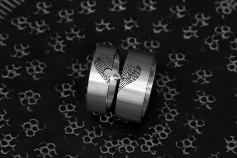 Vingerafdruk ring - Puzzel