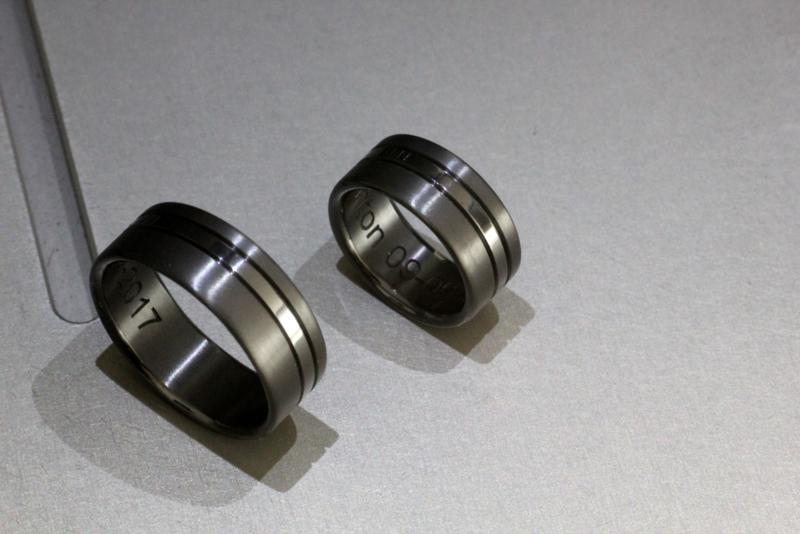 Zwarte Zirkonium ringen