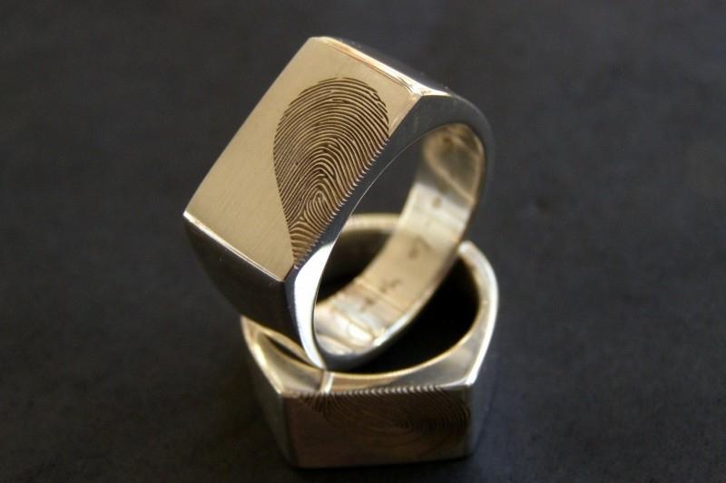 Zilveren Kool Design Zegelringen