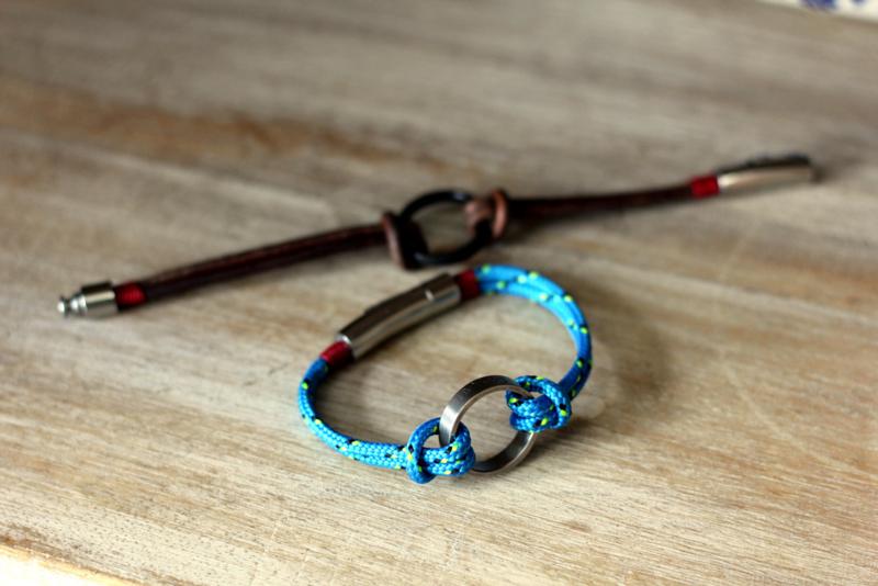 Trouwring armband / Wedding ring bracelet