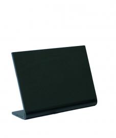 5x Tafel krijtbordje L-vormig A8 (TBA-BL-A8)