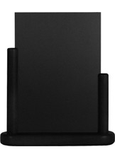 Zwarte Tafel houder Elegant, 15x21 cm A5 (ELE-BL-ME)