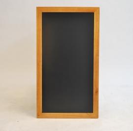 Teak Wandbord in lange / hoge uitvoering, 56x100 cm (WBL-TE-100)