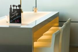 6x tafel-krijtbordje op aluminium voet Cocktail (FBTA-COCKTAIL)