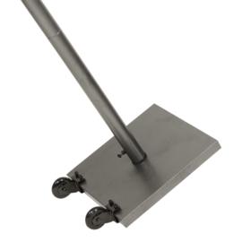Staander 120 cm en voet met wieltjes voor menukast (MCS-BA-120-G1+G2)