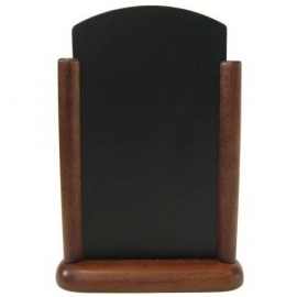 Donkerbruin Tafel houder Elegant, 21x30 cm A4 (ELE-DB-LA)