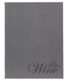Grijze wijnkaart A4, Velvet Design (MC-DRWC-VELVET)