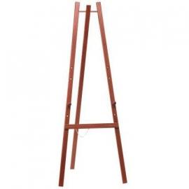 Mahonie houten schidersezel 165 cm (EZL-M-165)