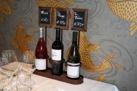 Wijnflessen houder, 3 flessen (WB-WR-3X)