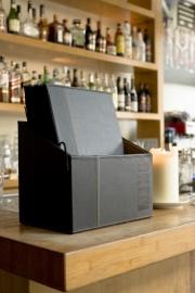 Luxe menukaarten box inclusief 20 menukaarten uit de Trendy serie, Black (MC-BOX-TRA4-BL)