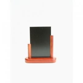 Mahonie Tafel houder Elegant, 10x15 cm A6 (ELE-M-SM)