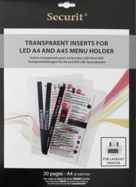 Transparante printfolie speciaal voor Laserprinter (MC-LIA-LJ)
