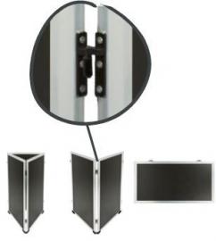 Set van 2 scharnieren voor Multi stoepbord