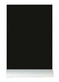 6x tafel-krijtbordje op aluminium voet A4 (FBTA-A4)