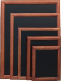 Donkerbruin Wandbord Universal met bolle lijst, 30x40 cm (WBU-DB-30)