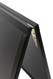 Stoepbord Zwart Woody Groot 125x70 cm (SBS-BL-120)