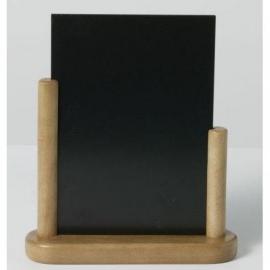 Teak Tafel houder Elegant, 15x21 cm A5 (ELE-TE-ME)
