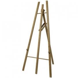 Teak houten schildersezel 165 cm (EZL-TE-165)