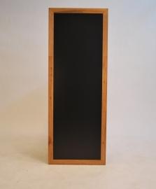 Teak Wandbord in lange / hoge uitvoering, 56x150 cm (WBL-TE-150)