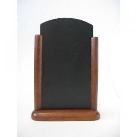 Donkerbruin Tafel houder Elegant, 15x21 cm A5 (ELE-DB-ME)