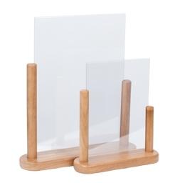 Posterbord Teak hout A6 (PFT-TE-SM)