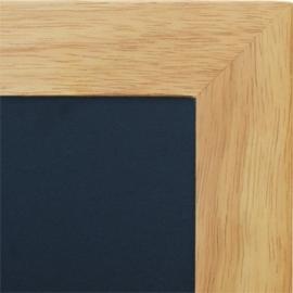 Teak Wandbord Universal met vlakke lijst, 50x60 cm (WBU-TE-50)