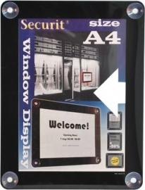2x Zwart raam poster frame A4 (PFW-A4-BL)