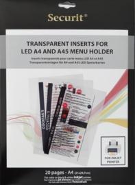Transparante printfolie speciaal voor Inktjetrprinter (MC-LIA-IJ)