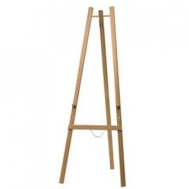 Blank houten schildersezel 165 cm (EZL-B-165)
