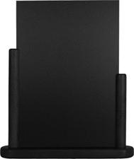 Zwarte Tafel houder Elegant, 21x30 cm A4 (ELE-BL-LA)