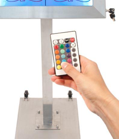 Afstandbediening voor LED verlichting (XX-REMOTE-CONTROL)
