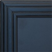 Zwart houten Wandbord Universal met ingefreesde lijst, 40x50 cm (WBU-BL-40)