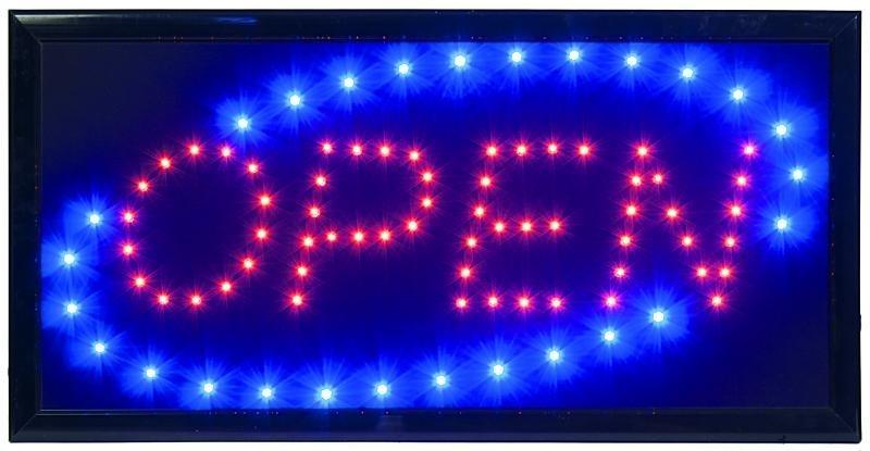 LED bord OPEN (LS-OPEN)